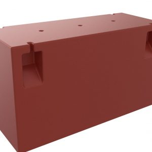 Flytponton 375 Liter för Gångbar Båtbom