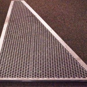 Gångbar Y-del Sträckmetall Höger