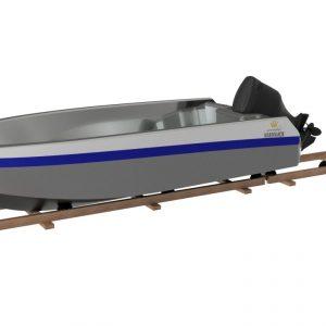 Båtslip 500 kg.