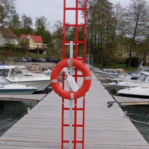 Livräddningspaket för hamnen eller bryggan