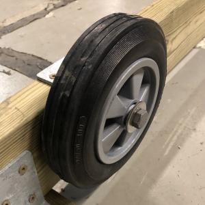 Hjul till Båtslip 1000 kg